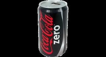 Coca-Cola zero - PowerBank 2600 mAh w kształcie puszki Coca-coli