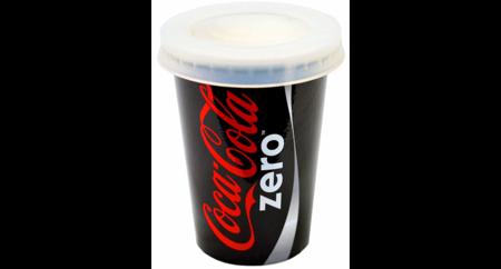 Coca-Cola zero - PowerBank 2600 mAh w kształcie kubka Coca-coli