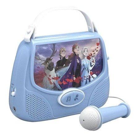 Frozen 2 - zestaw karaoke torebka